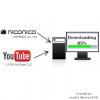 ニコニコ動画、Youtubeでの動画ファイルのダウンロード方法